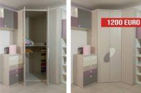 Offerta outlet: cabina armadio da cameretta