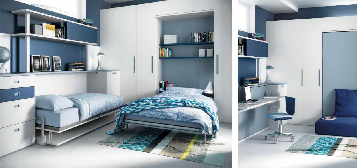 letto chiuso e letto aperto