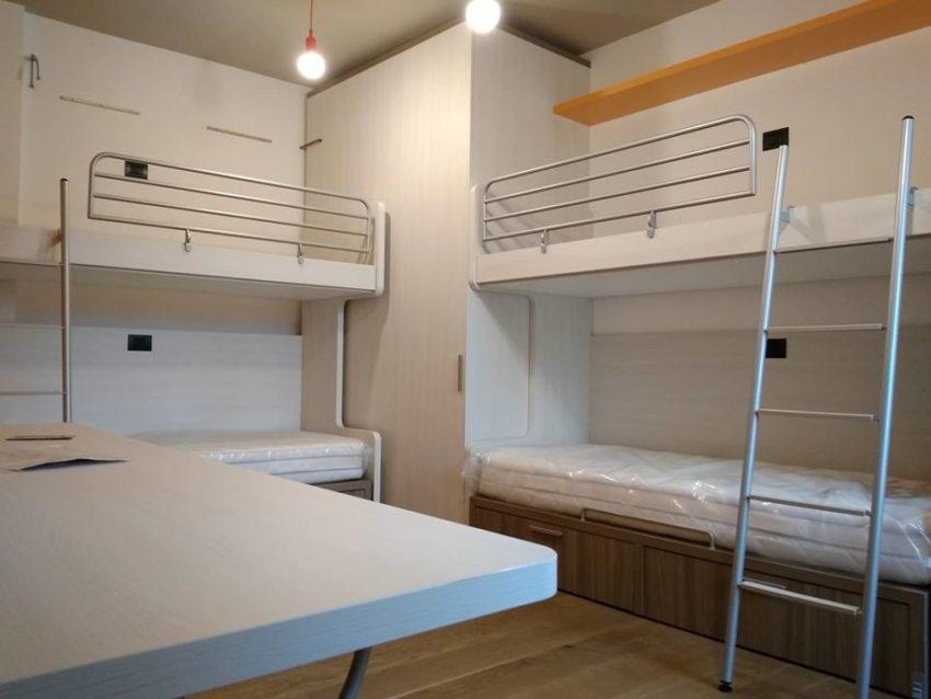 doppio letto a castello