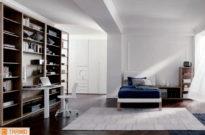 Cameretta bianca per stanza elegante
